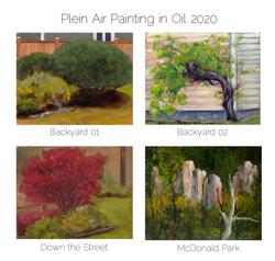 Plein Air Oil Painting in 2020