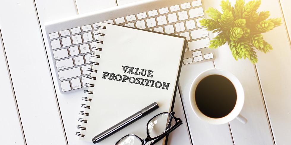 Value Proposition Design (2 hours) £299