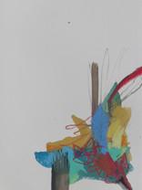 19 x 28 cm Mixed media on paper (watercolour, acrylics, crayons, watercolour pencils, ink) 1819x28FA300gD8