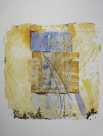 17 x 25 cm Monoprint on paper, mixed media (acrylics, ink) Reference: 1717x25FLM262