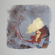 20 x 20 cm Mixed media, monoprint and collage on paper Reference: 20-20x20C350g2.JPG