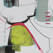 20 x 20 cm Mixed media, monoprint and collage on paper Reference: 201920x20C350g4.JPG