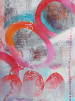 16 x 25 cm Monoprint and mixed media on paper Reference : 1616x25F220M90c