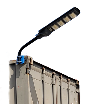 Shipping Container Solar Lighting System