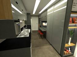design interiores cozinha LA