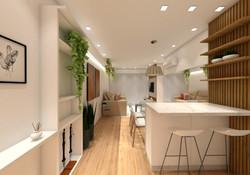 design interiores sala living JA