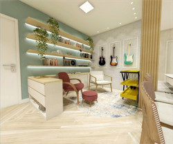 design de interiores salas AI