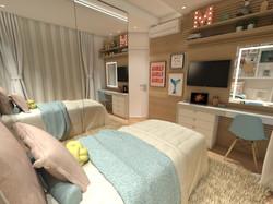 design interiores quarto menina JA