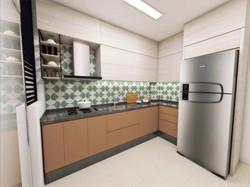 design de interiores cozinha AI