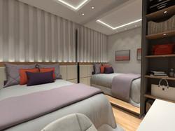 design interiores quarto casal JA