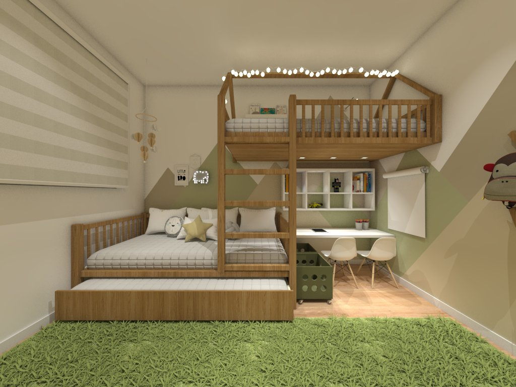 design de interiores quarto infantil