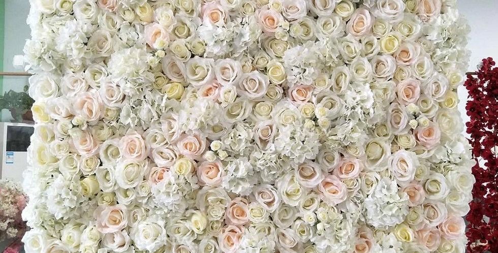 Customized flower wall FLOWERWALL026