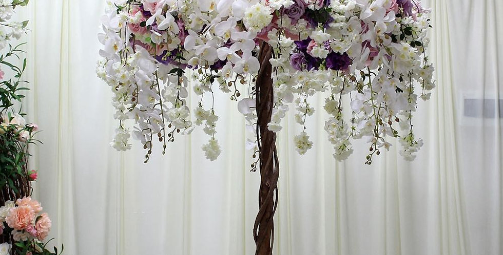 Wedding Orchid rose Trees table Centerpiece tree CT018