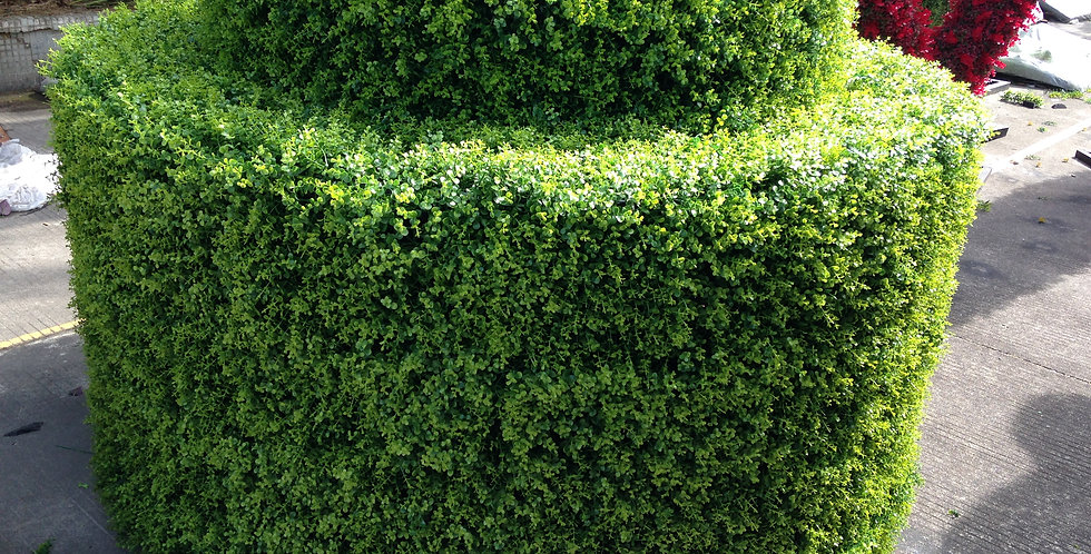 ARTIFICIAL BOXWOOD HEDGE  GRASS FENCE BH026