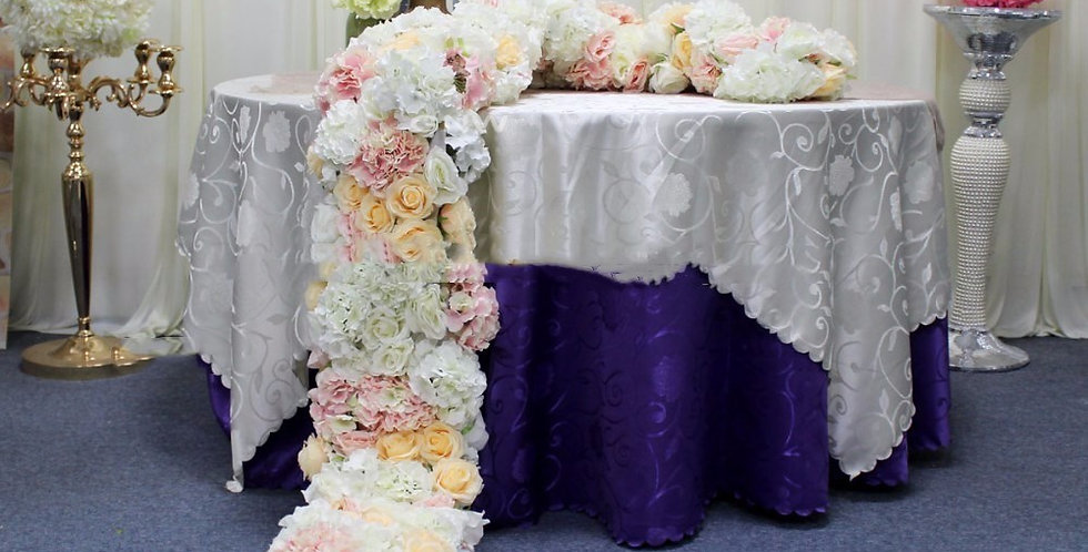 Greenery Table Floral Amazing Decor Customized Your Wedding