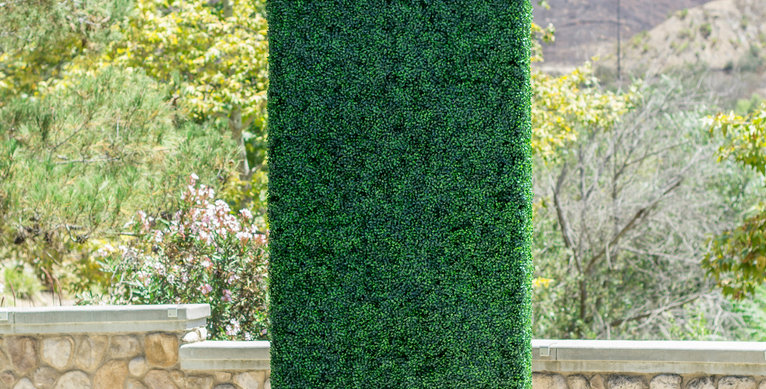 ARTIFICIAL BOXWOOD HEDGE  GRASS FENCE BH007
