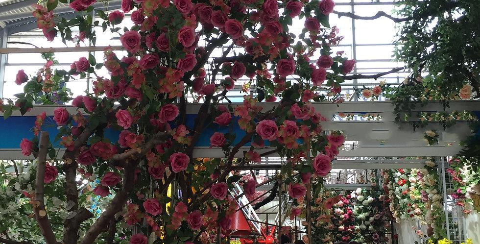 Customized flower wall FLOWERWALL018