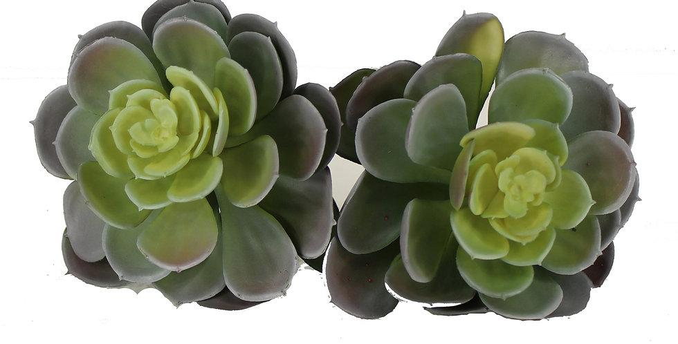 Artificial Succulent Plants fake succulent(Set of 2)