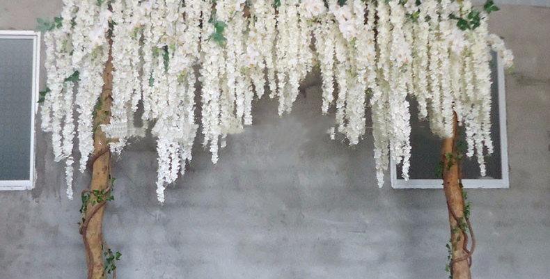Artificial Wisteria tree Wedding Arch Flower tree WD025