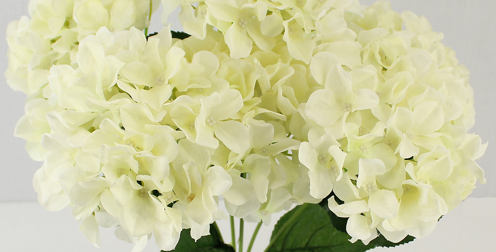 6 Heads Hydrangea Beautiful Artificial Flower Bunch Bouquet(pack of 2)