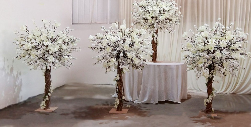 Magnolia flower Trees Trees table Centerpiece tree CT015
