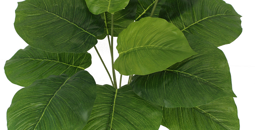 Artificial plants Philodendron  Artificial Greenery Tropical Shrubs