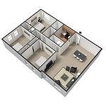 Big Red Apartments 3 Bedroom/1 Bath 970-1,000 Square Feet