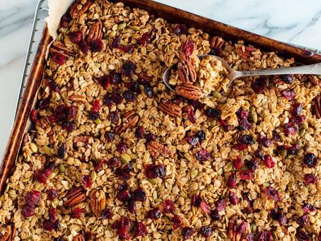 Healthy Swaps - DIY Healthy Granola Recipe