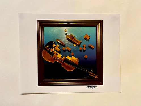 Andrew's Violin Photo Print