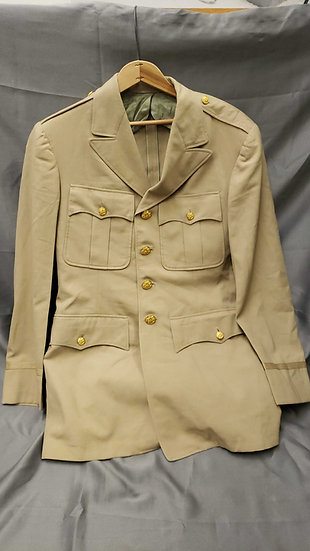 WWII ERA KHAKI WOOL JACKET