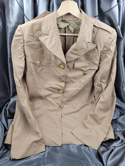 WWII US WOMEN AUXILIARY WORSTED WOOL JACKET