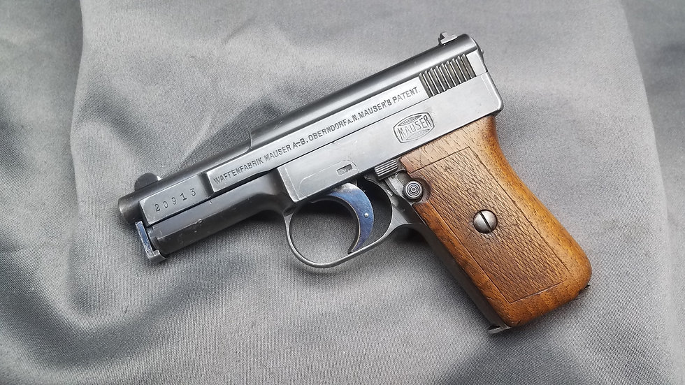 Mauser 1910 Pistol With Holster