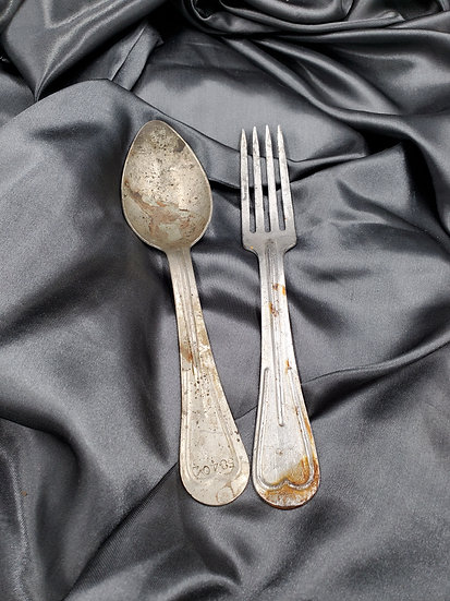 WWI US ARMY SPOON & FORK