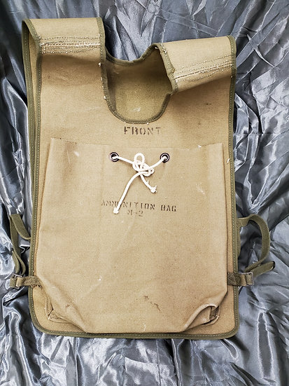 WWII US M2 AMMUNITION BAG