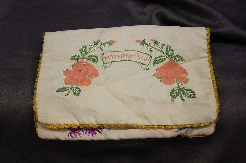 WWII Hawaii Hankerchief Pillowcase