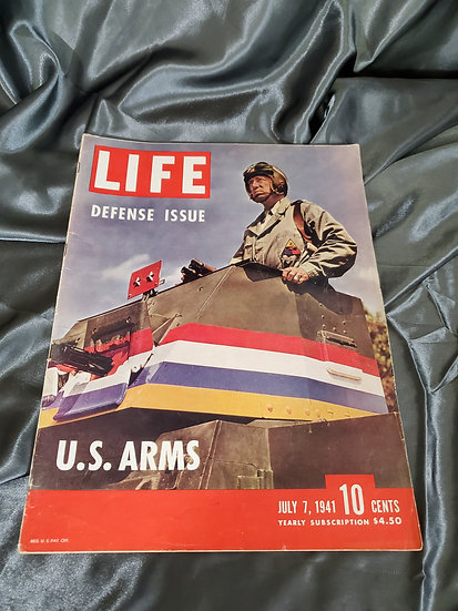 WWII LIFE MAGAZINE DEFENSE ISSUE JULY 7 1941