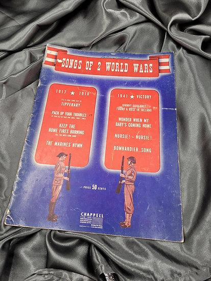 WWII ERA WORLD WARS SONG BOOK