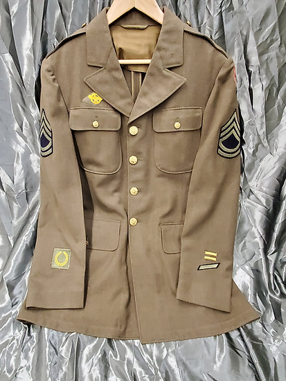 WWII US ENLISTED CLASS A JACKET