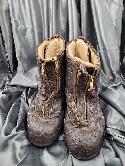 WWII US NAVY FLIGHT BOOTS