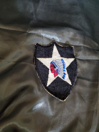 WWII 2ND INFANTRY DIVISION PATCH
