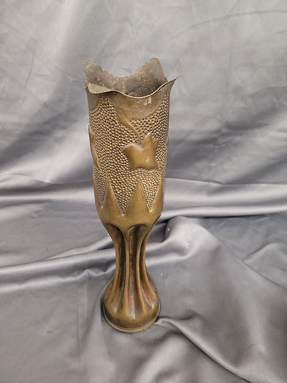 WWI TRENCH ART SHELL