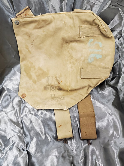 WWII US GAS MASK BAG