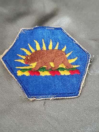 POST-WWII CALIFORNIA NATIONAL GUARD PATCH