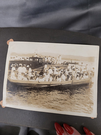 WWII JAPANESE PHOTO ALBUM - NAVY