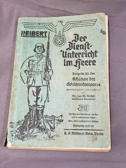 WWII GERMAN INFANTRY MANUAL