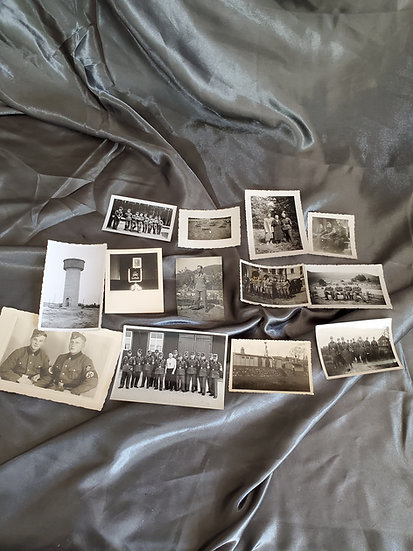 WWII GERMAN PHOTO GROUPING RAD TROOPS