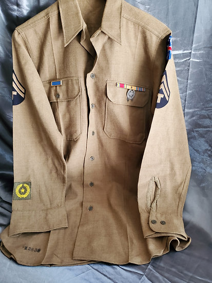 WWII US ARMY ENLISTED SHIRT