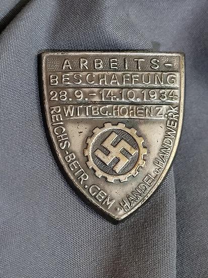 WWII GERMAN DAF TINNIE