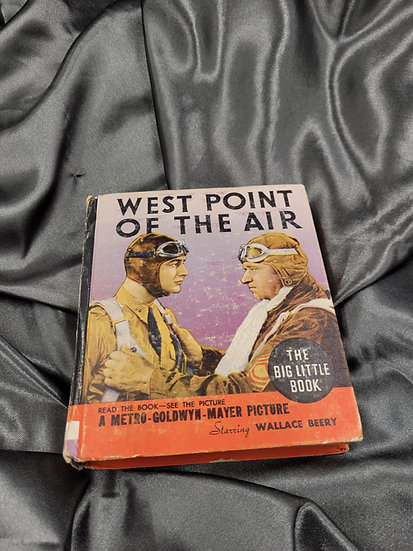 PRE-WWII MOTION PICTURE BOOK WEST POINT OF THE AIR
