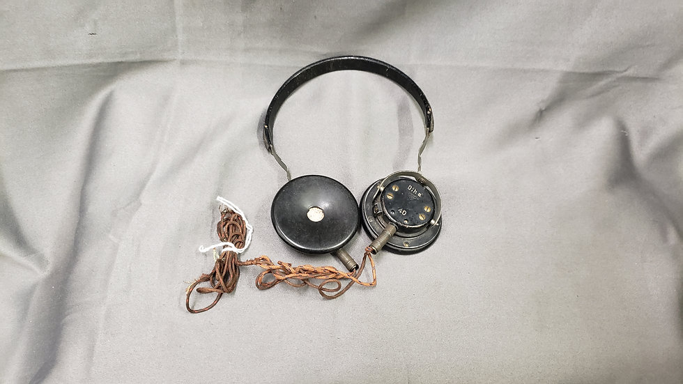 WWII GERMAN HEADPHONES